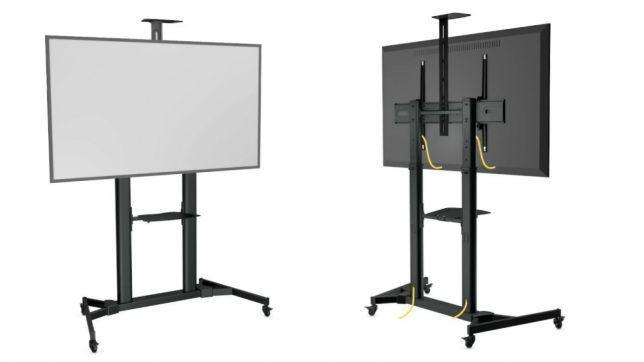 Мобильная стойка для интерактивных панелей и экранов
