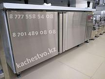 Холодильный стол Металлический 2х дверный 1500х800х900