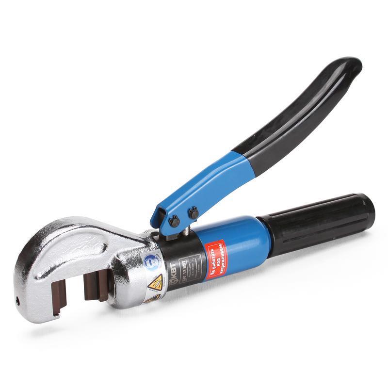 Болторез гидравлический для резки болтов диаметром 4-12 мм КВТ Набор лезвий Л-БРГ-12