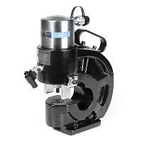 Шинодыр гидравлический. Пресс для перфорации электротехнических шин КВТ ШД-110 NEO