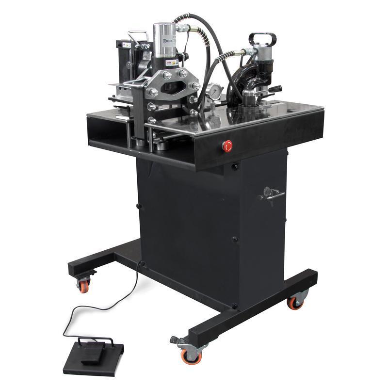 Универсальный стол с комплектом шинообрабатывающего оборудования КВТ СШО