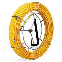 Протяжка из монолитной спирально закрученной полиэстровой нити с фиксированными наконечниками PET-1-5.2/50MK