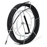 Протяжка из трех плетеных полиэстеровых нитей с фиксированными наконечниками на метал.катушке PET-3-6.0/50MK