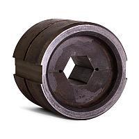 Матрица с круглым профилем обжима для пресса гидравлического ПГ-60 тонн А-28/60т