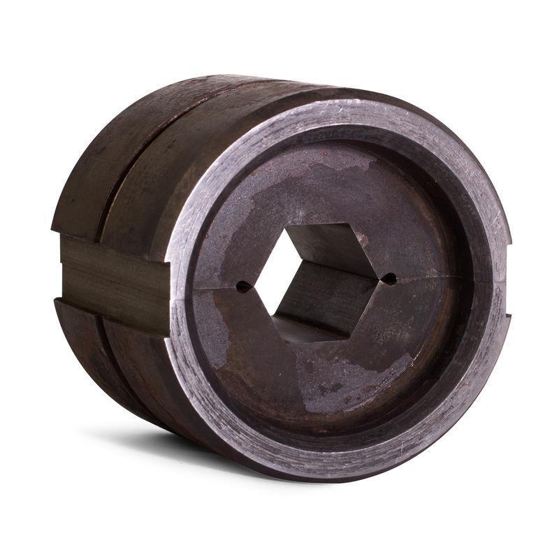 Матрица с круглым профилем обжима для пресса гидравлического ПГ-60 тонн С-24/60т