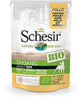 Schesir Bio консервы для собак курица 85г