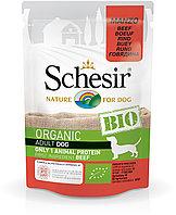 Schesir Bio консервы для собак, говядина 85г, фото 1