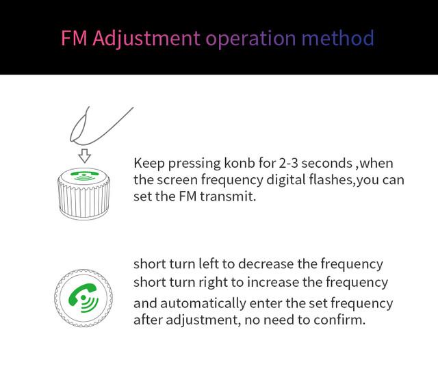 Автомобильный FM модуляторHands Free
