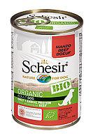 Schesir Bio консервы для собак, говядина 400г, фото 1