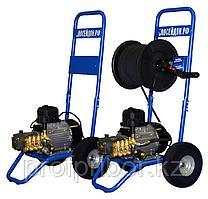 Водоструйный аппарат ВНА-110-12А, 110бар,12л/мин, шланг 6мм х 40м