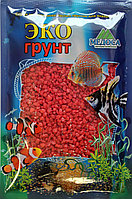 Цветная мраморная крошка 2-5 мм КРАСНАЯ (блестящая)
