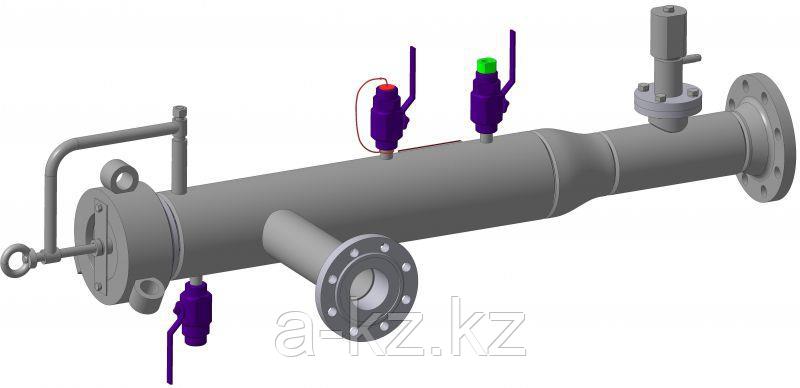 Камера(устройство) запуска и приема средств внутри-трубной очистки диагностики