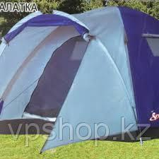 Трехместная палатка туристическая LanYu 1637 (220х220х155см)