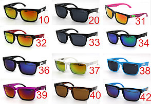 Солнцезащитные очки SPY+  черная оправа, серые дужки , фото 2