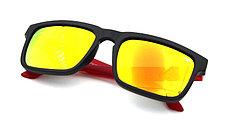 Солнцезащитные очки SPY+ by Ken Block, красные дужки,черная оправа., фото 3