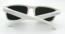 Солнцезащитные очки SPY+ by Ken Block, белые дужки,белая оправа., фото 2