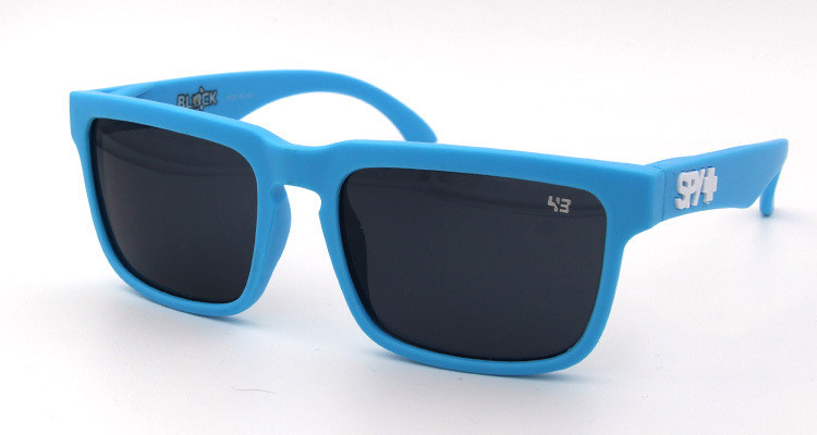 Солнцезащитные очки SPY+ by Ken Block, синие дужки,синея оправа.