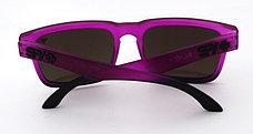 Солнцезащитные очки SPY+ by Ken Block, фиолетовые дужки,фиолетовая оправа., фото 3