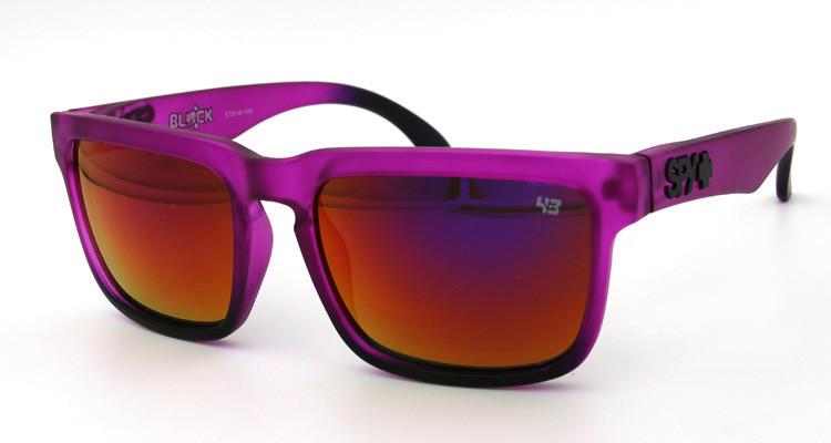 Солнцезащитные очки SPY+ by Ken Block, фиолетовые дужки,фиолетовая оправа.