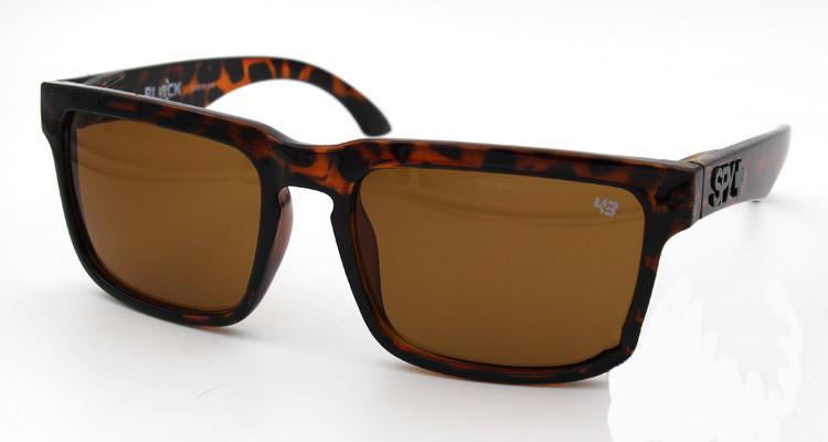 Солнцезащитные очки SPY+ by Ken Block, леопардовые