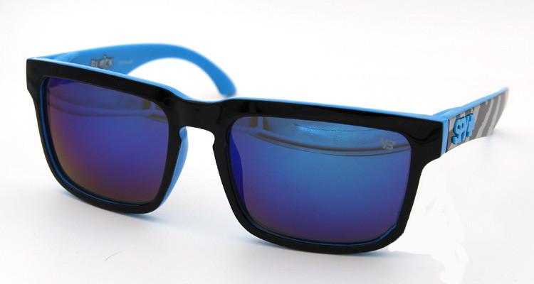 Солнцезащитные очки SPY+ by Ken Block, голубая зебра