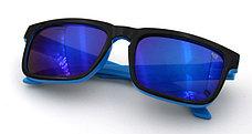 Солнцезащитные очки SPY+ by Ken Block, голубая зебра, фото 2