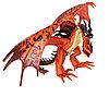 Dragons 66620 Дрэгонс Драконы с подвижными крыльями