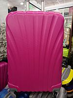 Розовый чемодан  средний.