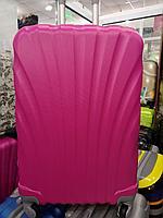 Большой, розовый чемодан