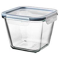 Контейнер для продуктов с крышкой ИКЕА/365+ прозрачное стекло 1.2 л ИКЕА, IKEA