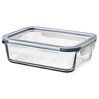 Контейнер для продуктов с крышкой ИКЕА/365+ прозрачное стекло 1 л ИКЕА, IKEA