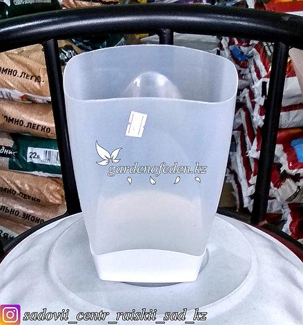Горшок пластиковый для орхидей,2 литра. Цвет: полупрозрачный., фото 2