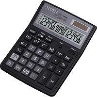 Калькулятор настольный Citizen SDC-395 N 16-разрядный черный