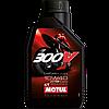 Синтетическое моторное масло Motul 300V 4T FL 10W40 1литр