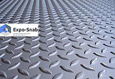 Лист рифленый 10мм чечевица, ромб  (рубка металла), фото 3