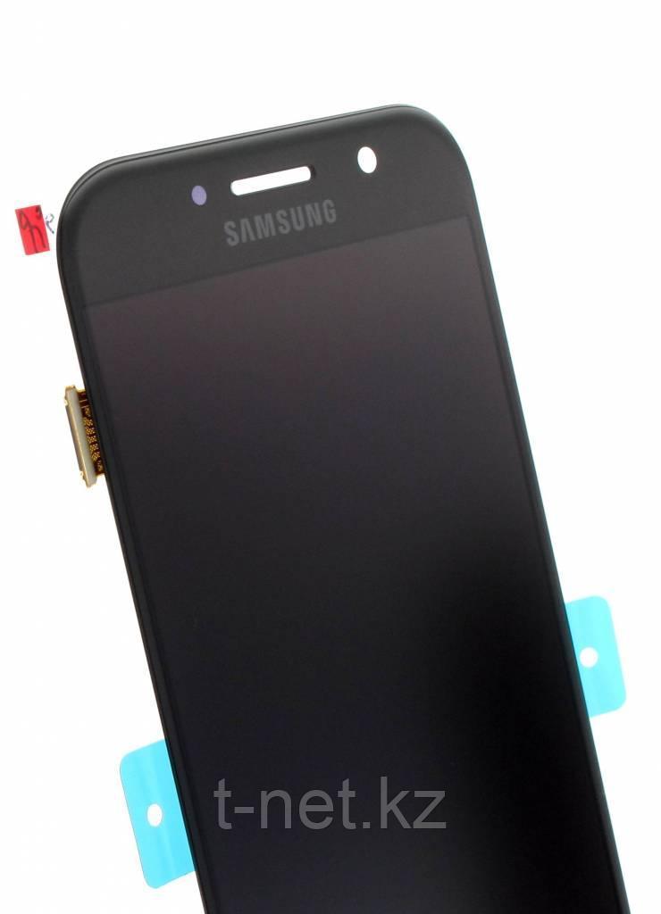Дисплей Samsung Galaxy A5 Duos (2017) SM-A520F Сервис Оригинал с сенсором, цвет черный