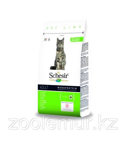 SCHESIR MAINTENANCE сухой корм 400г для кошек с Ягненком