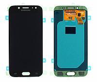 Дисплей Samsung Galaxy J5 (2017) SM-J530 Сервис Оригинал с сенсором, цвет черный, фото 1