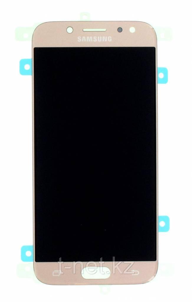 Дисплей Samsung Galaxy J5 (2017) SM-J530 Сервис Оригинал с сенсором, цвет золотистый