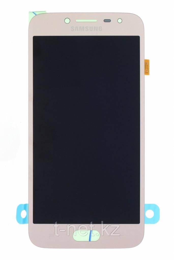 Дисплей Samsung Galaxy J2 (2017) SM-J250F Сервис Оригинал с сенсором, цвет золотистый