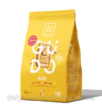 Гречишное безглютеновое печенье Albe GUDO 220г. производство Италия