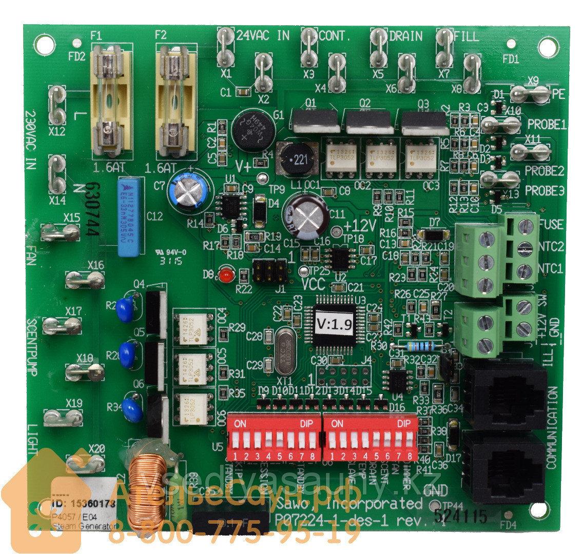 Панель управления (микросхема) для парогенератора SAWO STP-BOARD.Финляндия.