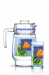 Набор для напитков Luminarc Melys Azur (7пр.)