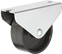Оборудование и поворотный ролик, с жесткой рабочей поверхностью, жесткий, 50 кг, 45 мм