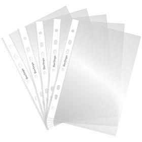 Папка-вкладыш с перфорацией Berlingo, А5, 30мкм, глянцевая 100 шт