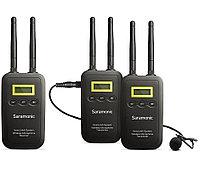 Комплект беспроводных микрофонов петличек Saramonic VmicLink5 (приемник RX + 2 передатчика TX)