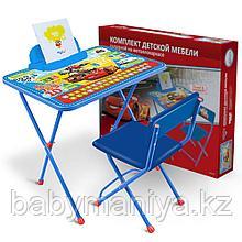 Набор детской складной мебели Ника Тачки  (стол+стул)