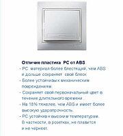 701-0303-101 Выключатель 2кл, крем