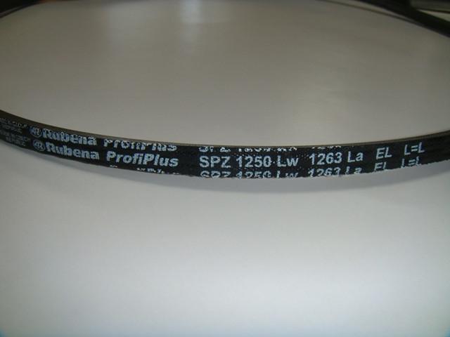 Клиновой ремень SPZ 1250