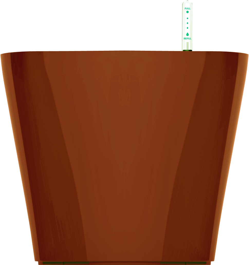 Кашпо коричневое с автополивом 45х38cmH